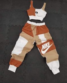 Cute Lazy Outfits, Swag Outfits For Girls, Cute Swag Outfits, Girls Fashion Clothes, Teenager Outfits, Teen Fashion Outfits, Look Fashion, Cute Outfits With Nikes, Tomboy Fashion