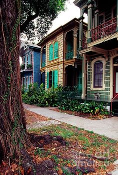 Esplanade Ave - French Quarter - New Orleans, LA. Real New Orleans New Orleans Homes, New Orleans Louisiana, Oh The Places You'll Go, Places To Travel, Places To Visit, Mississippi, New Orleans French Quarter, Crescent City, Sint Maarten