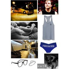 Off To Bed With Hubby Dean Ambrose by alyssaclair-winchester on Polyvore featuring Allurez, Larke, Victoria's Secret, WWE and DeanAmbrose