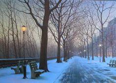 A Cold Winter's Night...Alexei Butirsky