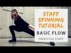 Zero to Fishtail - Basic Flow - Video 1/5- BEGINNER Staff Manipulation Tutorial Series - YouTube