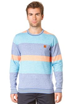 BENCH Jinly Knit Sweat hawaiian ocean #planetsports
