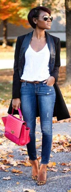 Discover this look wearing Blue Old Navy Jeans - BOYFRIEND STYLE by thedaileigh styled for Casual, Everyday in the Fall Casual Chic, Style Casual, Style Désinvolte Chic, Mode Style, Jeans Boyfriend, Boyfriend Style, Winter Outfits, Casual Outfits, Cute Outfits