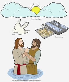 Chocolate on my Cranium: Baptism of Jesus Christ (she has flannel board stories) Flannel Board Stories, Felt Board Stories, Flannel Boards, Bible Activities, Church Activities, Jesus Baptism Craft, Religion, Jean Baptiste, Bible Crafts