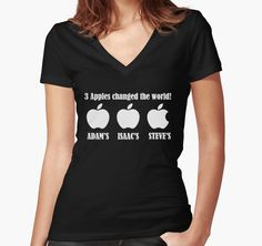 3 Apples Changed The World - Tribute - Steven/Steve Jobs R.I.P by stabilitees