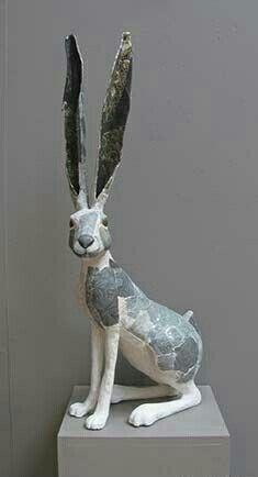 Image result for paper mache animal sculpture