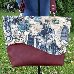 Eugénie sur Instagram: J'adore le sac Samba de chez Sacôtin ❤ Voici un autre modèle unique 👜 avec un tissu Alexander Henry ! #Nadègetissus #saccabas #sacôtin…