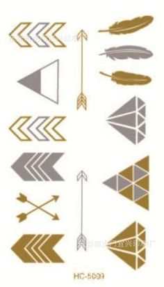 2015 golden tatto body art metallic temporary tattoo jewelry bracelet flash tattoo arrow diamond feather gold tatoo HC 5009-in Temporary Tattoos from Health & Beauty on Aliexpress.com | Alibaba Group