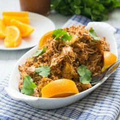 Slow Cooker Orange BBQ Pulled Pork