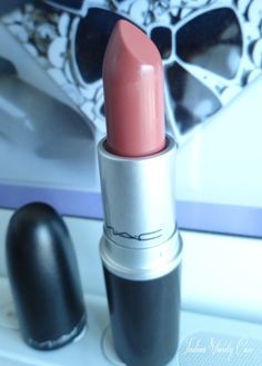 MAC Cosmo Lipstick    just bought this color. OBsessed. perfect pinky peachy nude