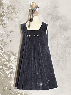 Children's sewing pattern : Dress Elégante