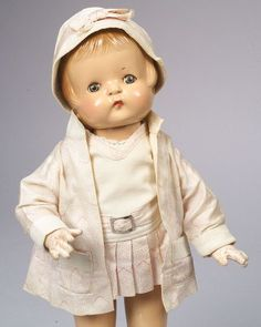"""Effanbee Composition """"Patsy-Ann"""" Doll 1930"""