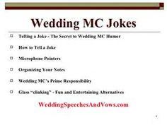 Mc A Wedding Jokes The Best Image Search