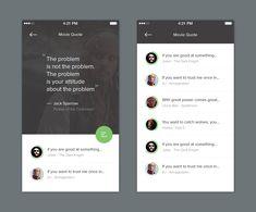 Quotes App – Mobile app by Dwinawan Hariwijaya