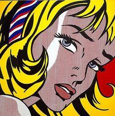 blog Vera Moraes - Decoração - Adesivos Azulejos - Papelaria Personalizada - Templates para Blogs: Ilustrações para download - A pop art de Roy Liechtenstein