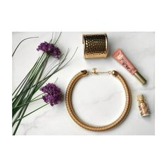 Gold Statement Necklace Jewelry Flat lay