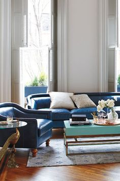 Lacquered Rectangular Coffee Table - anthropologie.com