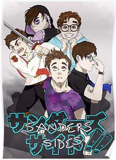TSFakeAnime - Sandasu Saido!! Poster