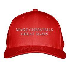 Make Christmas Great Again Embroidered Baseball Cap