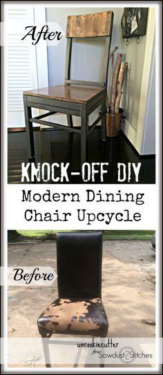 Modern Chair UpCycle RepairUpcycled FurnitureDiy
