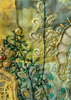 The Textile Cuisine: How the process goes? / Jak to się staje?  #needlework #beading