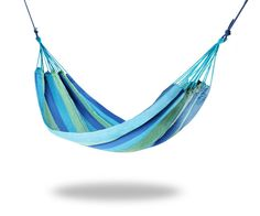Hawaii Garden Hammock - Blue Stripe. Visit us now and ENJOY 10% OFF + FREE SHIPPING on all orders