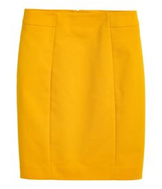 Short Pencil Skirt - H&M