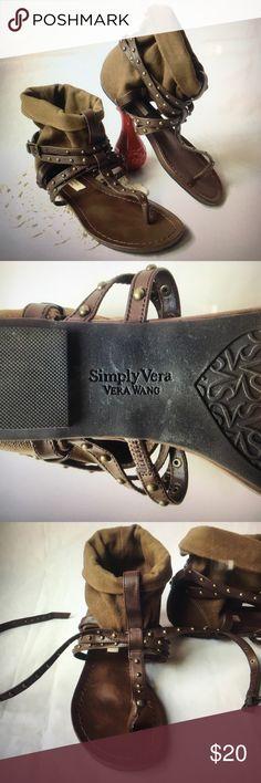 Selling this Simply Vera Vera Wang sz. 6 Gladiator sandals on Poshmark! My username is: coolstuffhut. Green And Brown, Olive Green, Gladiator Sandals, Shoes Sandals, Sandals For Sale, Simply Vera, Vera Wang, Fashion Design, Fashion Tips