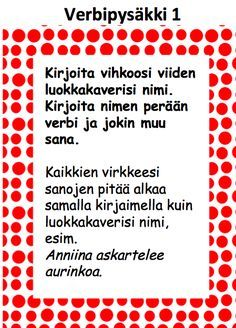 Varga-Neményi-menetelmään, toiminnallisuuteen ja Liikkuva Koulu-ideologiaan hurahtaneen opettajan opetuskokeiluja. Teaching Reading, Learning, Finnish Language, Abc For Kids, Future Jobs, Getting Bored, School Fun, Special Education, Literature
