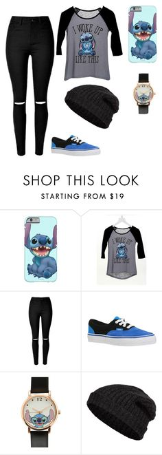 """Stitch outfit"" by hazel-woodson ❤ liked on Polyvore featuring dELiA*s, Vans, Disney, Closed, women's clothing, women, female, woman, misses and juniors"