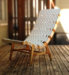 Birch Plywood Lounge Chair by michaelarras on Etsy