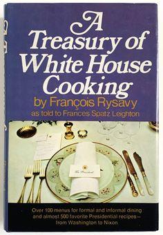 Vintage Cookbook, Treasury of White House Cooking by Francois Rysavy 1972 HCDj, Presidential Recipes Menus From Washington to Nixon 1970s Kitchen, Etsy Shipping, Handmade Shop, American, Priorities, Vintage Children, Washington, Kids Shop, Menu
