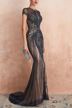 Elegant Dresses For Women, Beautiful Dresses, Party Dresses For Women, Junior Homecoming Dresses, Look Formal, Black Formal Gown, Black Prom, Gala Dresses, Pageant Dresses