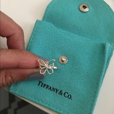 Tiffany Butterfly Ring Tiffany Butterfly ring in excellent condition size 5 Tiffany & Co. Jewelry Rings