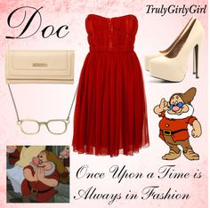 """Disney Style: Doc"" by trulygirlygirl ❤ liked on Polyvore"