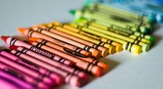 Crayola Crayons. How fab was a bright new shiny one instead of a stump?