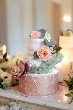 Chic rose gold inspiration shoot in a French Castle - Chic & Stylish Weddings