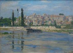 Carrières Saint Denis - Claude Monet 1872