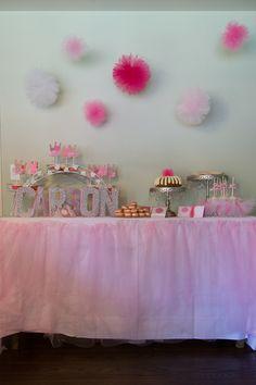 pink tutu party
