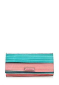 Портмоне Eleganzza Цвет: голубой, розовый. Материал: натуральная кожа. Сезон: Весна-лето 2014. С бесплатной доставкой и примеркой на Lamoda. http://j.mp/1l4hRy0