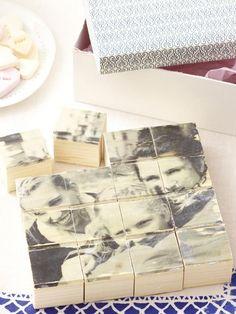 Urlaubsfotos oder ausgefallene Muster - dank Computer und Laserdrucker können wir jetzt unsere ganz persönlichen Taschen, Puzzle und Memories basteln.