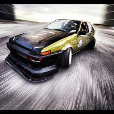 DMCC AE86 Drift car photo by #steho #streetaddicts - @streetaddicts- #webstagram