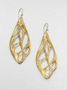 Alexis Bittar - Sparkle Web Drop Earrings - Saks.com