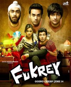 Buy Fukrey bollywood Movie DVD, VCD and Blu-ray at www.greatdealworld.com