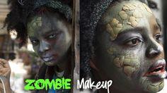 Ao invés de usar uma tradicional fantasia de bruxa, que tal caprichar na maquiagem zumbi e arrasar na festa de Halloween?