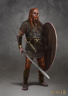 Total War: Rome II - Gaul  Champion by telthona.deviantart.com on @DeviantArt