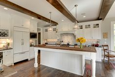 Kitchen from a Stonewood LLC custom built home