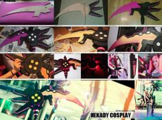 Tutorial Cosplay Guadaña Scythe Hyperdimension Neptunia http://www.hekady.com/Blog/Tutoriales/Tutorial_Cosplay_Guadania.html
