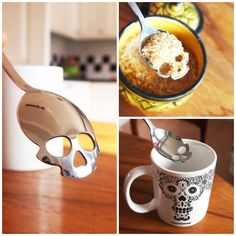 skull spoon