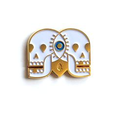 A gold-plated soft enamel jacket pin. It's all the things you'd expect from a…
